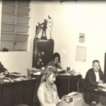 Antiga secretaria do clube na década de 1950